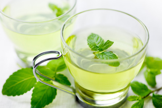 Peppermint tea is actually a sweat inducer