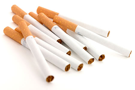 Nicotine should be avoided by sweaters