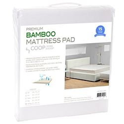 Ultra Luxe Bamboo Mattress Pad Protector Cover Sweat Aid