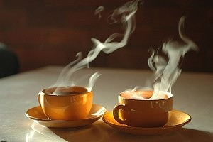 Hot drinks aren't god for a person who sweats